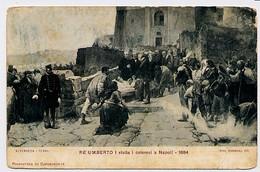 Pinacoteca Di Capodimonte -Re Umberto I Visita I Colerosi A Napoli - 1884 - Nini Cannevale  Dip. - Paintings