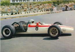 Grand Prix  Monaco 1968  -  John Surtees   -  Honda RA301 F1  - Carte Postale - Grand Prix / F1