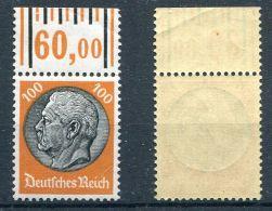 D. Reich Michel-Nr. 528 Oberrand Postfrisch - Allemagne