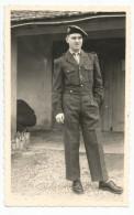 Photographie Militaire Devant Le Foyer A Bellefontaine D´alger Algerie Mars 1959 Photo 8,8 X 13,7 Cm - Guerre, Militaire