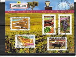 FRANCE 3646 à 3648-3653-3654 Oblitérés Rond - Used Stamps