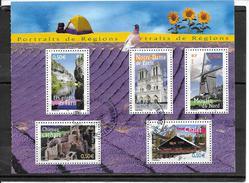 FRANCE 3704 à 3706-3710-3711 Oblitérés Rond - Used Stamps