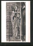 Foto-AK Deutscher Kunstverlag, Nr. 28: Braunschweig, Muttergottes In Der Paulskirche - Photographie