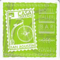 Casa Tarzan - San Augustin - Colombia - Ongebruikt Exemplaar - Bierviltjes