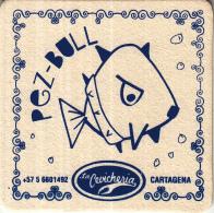 Pez-Bull - La Cevicheria - Cartagena - Spanje - Ongebruikt Exemplaar - Bierviltjes