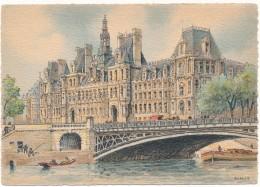 BARRE DAYEZ - 2012C - Paris, L'Hotel De Ville - Barday - CPSM 10,5 X 15 Cm Non écrite - Non Classés