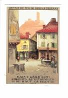 46 , SAINT CERE , Repro De L'affiche Du Chemin De Fer Paris Orléans - Animation Fontaine - Saint-Céré
