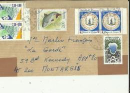 Enveloppe Timbrée De Mr CAZALSO A DRAVEIL 91 Adressée A Mr MARLIN  F A Montargis 45 - 1950 - ...