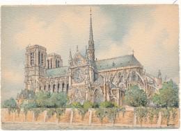 BARRE DAYEZ - 2012H - Paris, Notre Dame - Barday - CPSM 10,5 X 15 Cm Non écrite - Non Classés