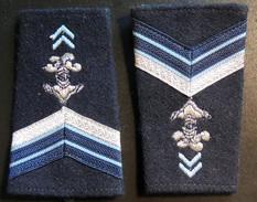 Ancienne Paire De Fourreaux D'épaulettes : Hussards Brigadier-Chef - Uniforms