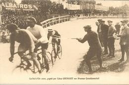 CYCLISME : Le Bol D'Or 1910, Gagné Par Léon GEORGET Sur Pneus CONTINENTAL - TBE - Cycling