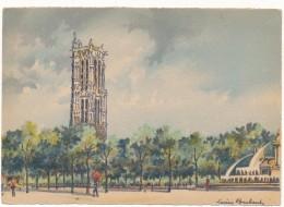 BARRE DAYEZ - 2302T - Paris, Le Square De La Tour Saint Jacques - Baubaut - CPSM 10,5 X 15 Cm Non écrite - Non Classés