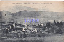 CPA Du DAUPHINE (38) - MIRIBEL- LANCHATRE  - VUE GENERALE - E.R. N° 1510 - Otros Municipios