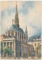 BARRE DAYEZ - 2013G - Paris, Le Palais De Justice Et La Sainte Chapelle - Barday - CPSM 10,5 X 15 Cm Non écrite - Non Classés