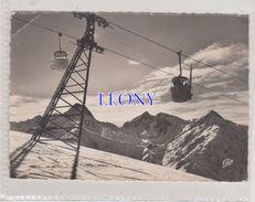 CPSM 10X15  LES DEUX ALPES   (38) -  VENOSE Et MONT De LANS - TELEVOITURE Du DIABLE - La MUZELLE  N° 1513 -1959 - France