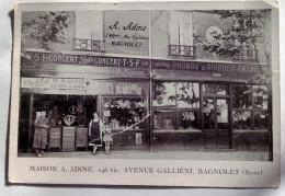 MAISON A. ADINE  AVENUE DE GALLIENI BAGNOLET - Bagnolet