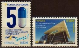 """2014  """"Conseil De L´Europe""""  N° 159 Et 160  Neufs** - Mint/Hinged"""
