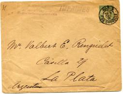 FRANCE ENTIER POSTAL (IMPRIMES) DEPART PARIS 2 DEC 91 R. DE GRENELLE POUR L'ARGENTINE - Postal Stamped Stationery