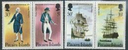 Pitcairn 1976  Sc#156-9   Bicentennial Set  MNH**   2016 Scott Value $3.50