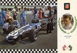 Dan Gurney   -   Eagle Weslake V12 F1    -  Serie Gran Prix No 7  -  Carte Postale - Grand Prix / F1