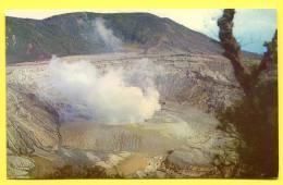 COSTA RICA -  Volcano Poas.  Volcan Photo Eugenio Vargas - Costa Rica