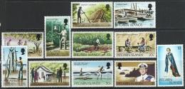Pitcairn 1977  Sc#163-73  Set(No A#s)   MNH**   2016 Scott Value $4.70