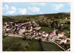 CP 10*15-DUC346-SAINT DENIS DE CABANNE VUE GENERALE AERIENNE - Otros Municipios