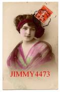 CPA -  Une Jolie Jeune Fille En 1913  - Scans Recto-Verso - Women