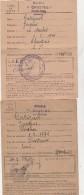 - 63 - CHASTREIX - 2 Cartes D'électeur M. GATIGNOL Jacques Né En 1871 - 004 - Documenti Storici