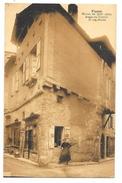 Cpa: 46 FIGEAC - Maison Du XIIIe Siècle, Angle De La Rue Toufort Et Rue Droite (animé) - Figeac