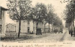 CHAUMONT - ROUTE DE LANGRES - QUARTIER D'ARTILLERIE - Chaumont