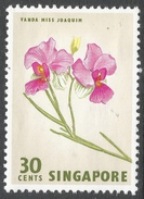 Singapore. 1962-66 Definitives. 30c MH. SG 73 - Singapore (1959-...)