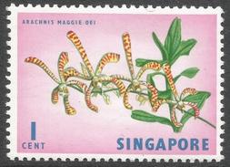 Singapore. 1962-66 Definitives. 1c MH. SG 63 - Singapore (1959-...)