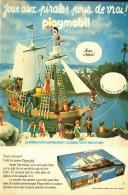"PUB   PLAYMOBIL "" LES PIRATES "" 1974 (3) - Playmobil"