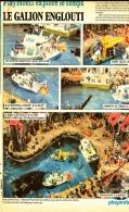 "PUB   PLAYMOBIL "" LE GALION ENGLOUTI "" 1971 (4) - Playmobil"