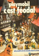 "PUB  PLAYMOBIL  "" C'EST FEODAL "" 1976 (8) - Playmobil"