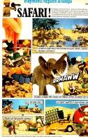 "PUB  PLAYMOBIL COLOR "" SAFARI "" 1974 (9) - Playmobil"