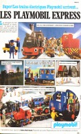 "PUB TRAIN ELECTRIQUE  PLAYMOBIL "" LES PLAYMOBIL  EXPRESS "" 1982 (11) - Playmobil"