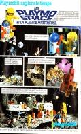 "PUB   PLAYMOBIL EXPLORE LE TEMPS  "" LES PLAYO SPACE "" 1982 (12) - Playmobil"