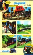 "PUB  PLAYMOBIL "" PLAYMOBIL En  TRAIN  ""1984 (14) - Playmobil"