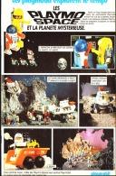 """PUB  PLAYMOBIL EXPLORE LE TEMPS """" PLAYO SPACE Et La PLANETE MYSTERIEUSE """"1983 (14) - Playmobil"""