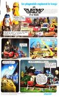"""PUB  PLAYMOBIL EXPLORE LE TEMPS """" PLAYO SPACE Et Le TRAIN  """"1983 (15) - Playmobil"""
