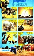 """PUB  PLAYMOBIL """" PLAYMOBIL En  AFRIQUE  """"1984 (16) - Playmobil"""