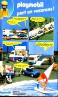 """PUB  PLAYMOBIL """" PLAYMOBIL PART EN VACANCES  """"1984 (17) - Playmobil"""