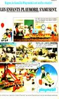 "PUB PLAYMOBIL "" LES ENFANTS PLAYMOBIL S'AMUSENT "" 1982 (18) - Playmobil"