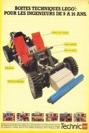 "PUB  LEGO  "" LEGO TECHNIC "" 1984 (1) - Figures"