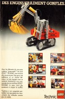 "PUB  LEGO  "" LEGO TECHNIC "" 1984 (2) - Figures"