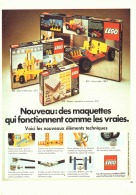 "PUB  LEGO  "" LEGO TECHNIC "" 1977 (5) - Figures"