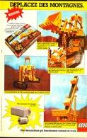 """PUB  LEGO  """" LEGO DEPLACEZ DES MONTAGNES """" 1979 (6) - Poppetjes"""