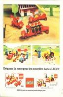 """PUB  LEGO  """" LEGO LES POMPIERS """" 1977 (7) - Figures"""
